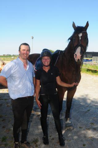 Dressuur en working equitation clinic van Pedro Teixiera Farto