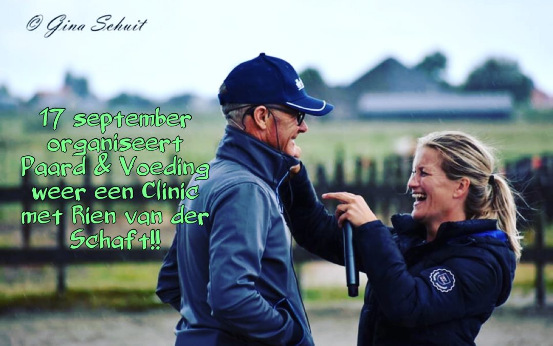 Clinic Rien van der Schaft 17 september