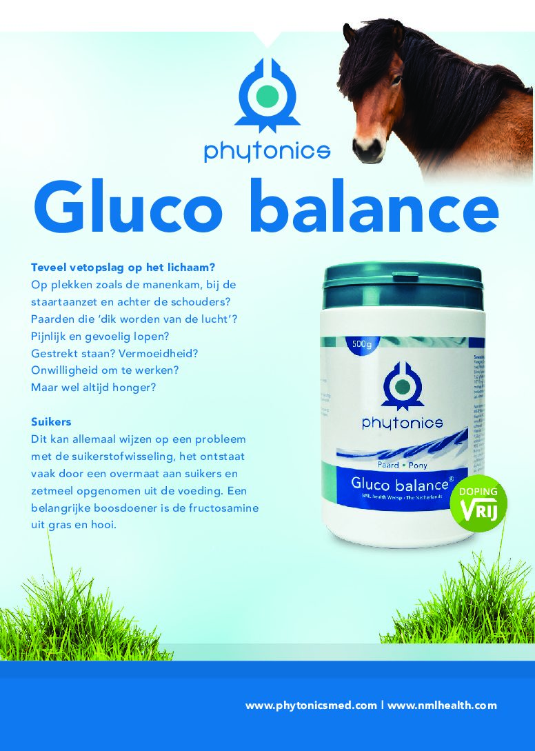 Insulineresistentie en glucosebalans